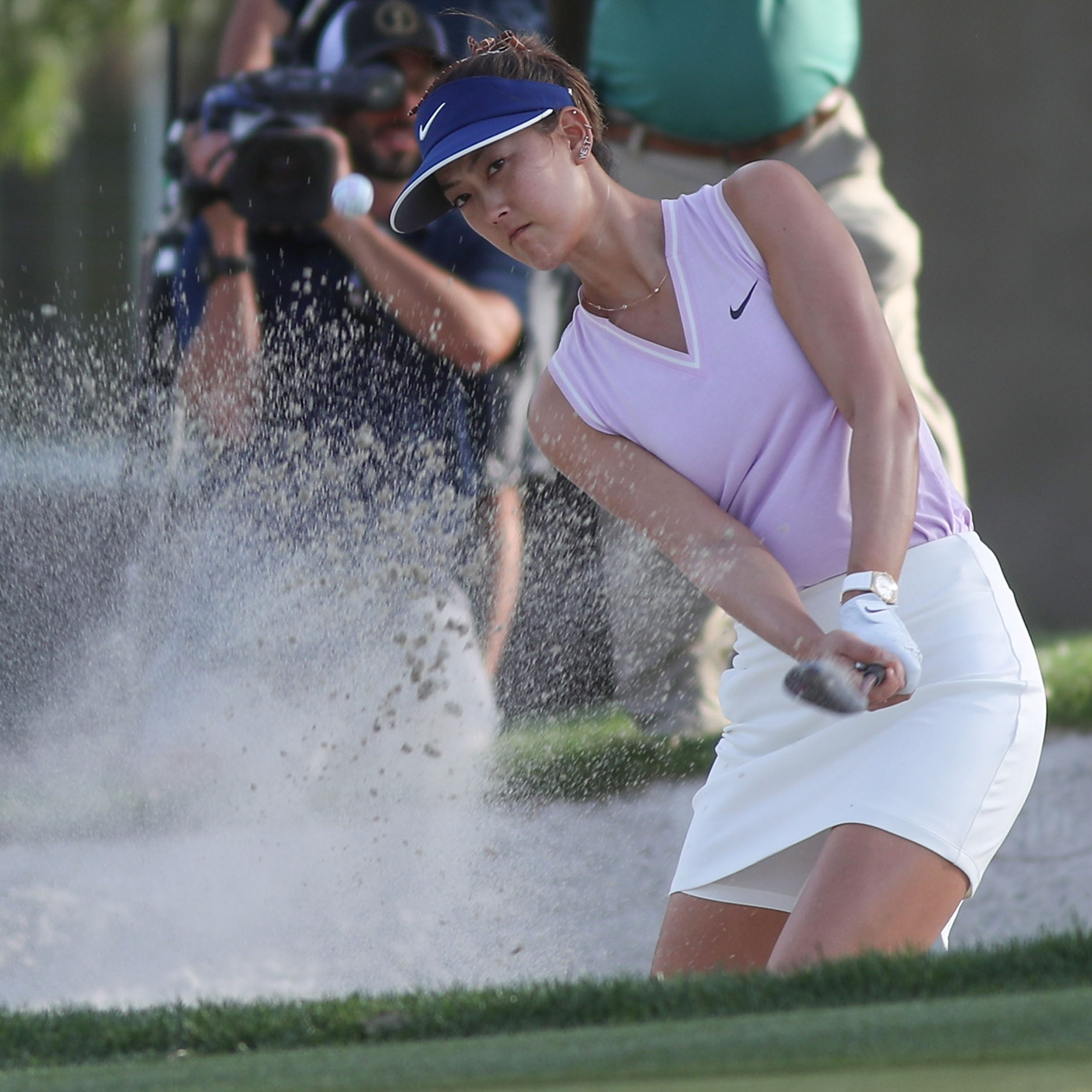 First bad, then good for Michelle Wie with 74 at ANA inspiration