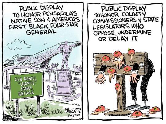 Local cartoons on Pensacola, Escambia and Santa Rosa County