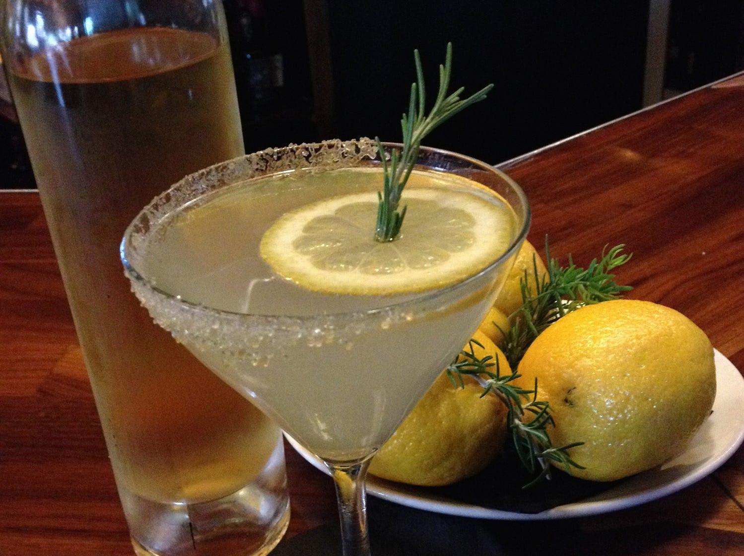 Marcellino: The Taxini martini at Marcellino Ristorante.