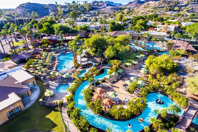 Pointe Hilton Squaw Peak Resort's River Ranch Water Park draws in vacationers every summer.
