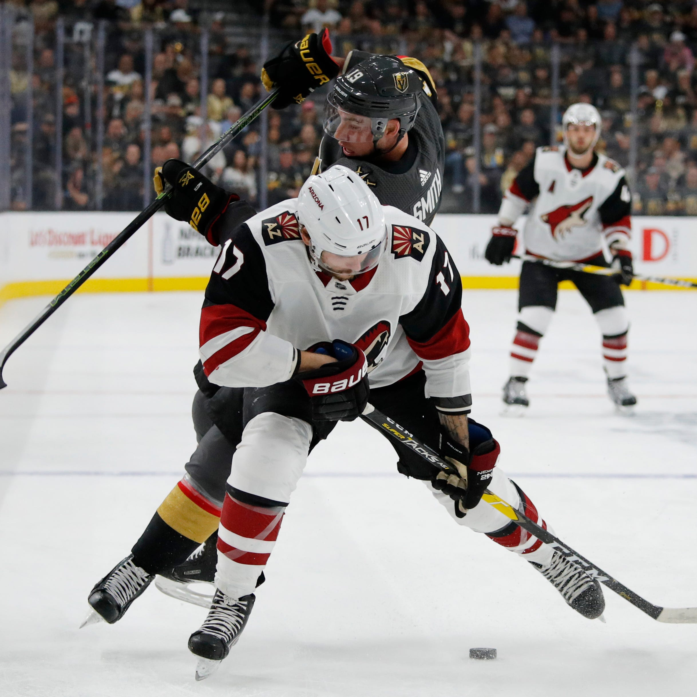 Coyotes beat Golden Knights but still eliminated from playoffs