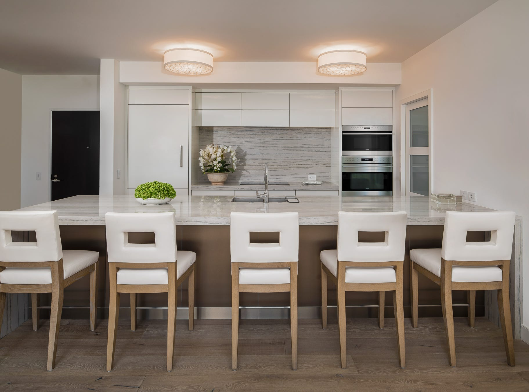 """They homeowners love the """"spa-like"""" feeling of their spacious condo."""