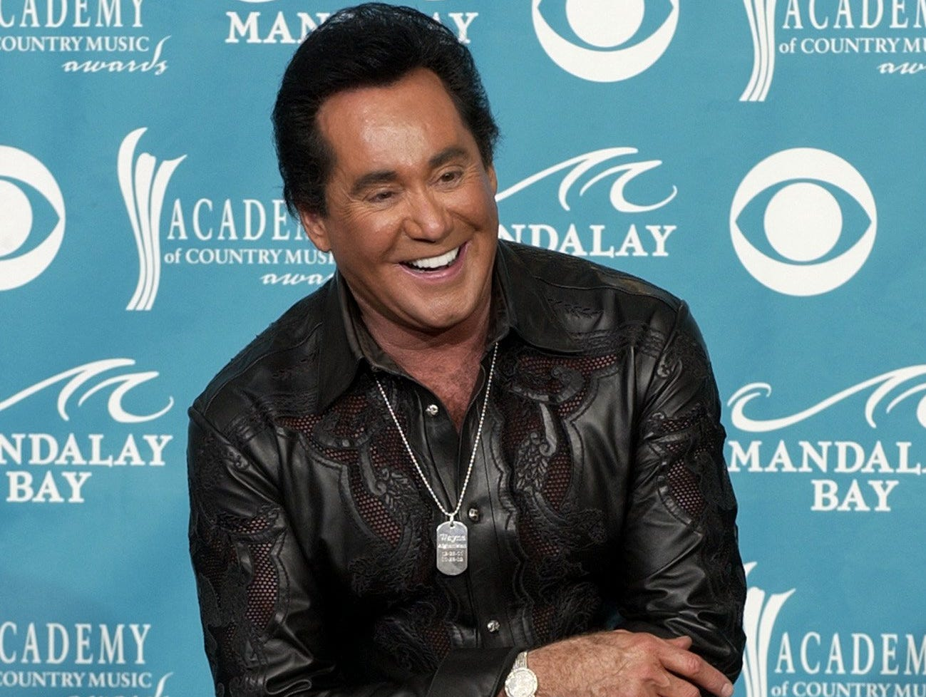 Wayne Newton attends the 38th annual Academy of Country Music Awards on May 21, 2003, in Las Vegas.