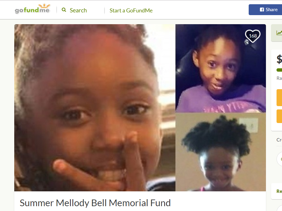 A GoFundMe account has been set up for Summer Bell Brown, who died April 4, 2019, after she was shot in what police said was a road-rage incident.