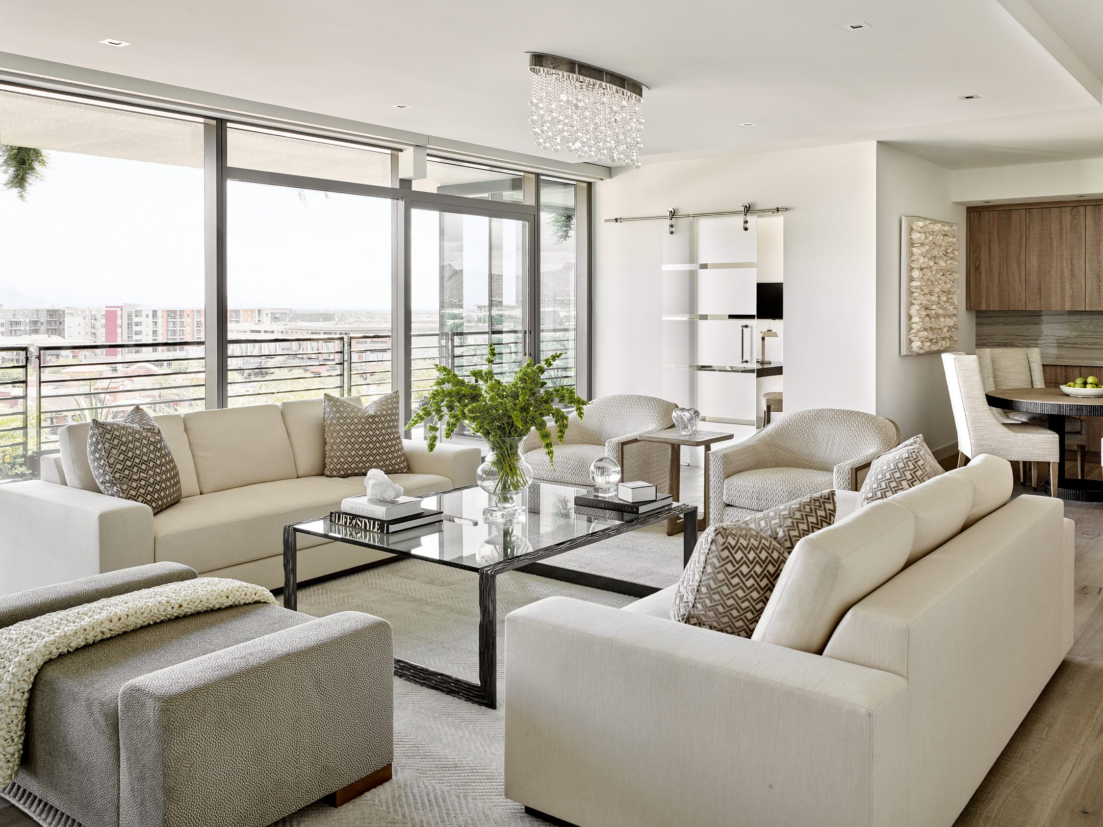 With the help of Lissa Hickman, of LHL Inc., the homeowners designed and furnished the residence.