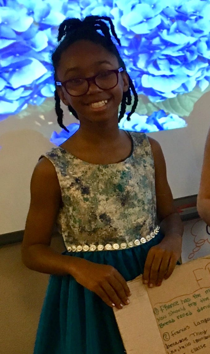 Summer Bell Brown was almost always the first one done with assignments in Rebecka Johnson's fifth-grade class at Holdeman Elementary School in Tempe.