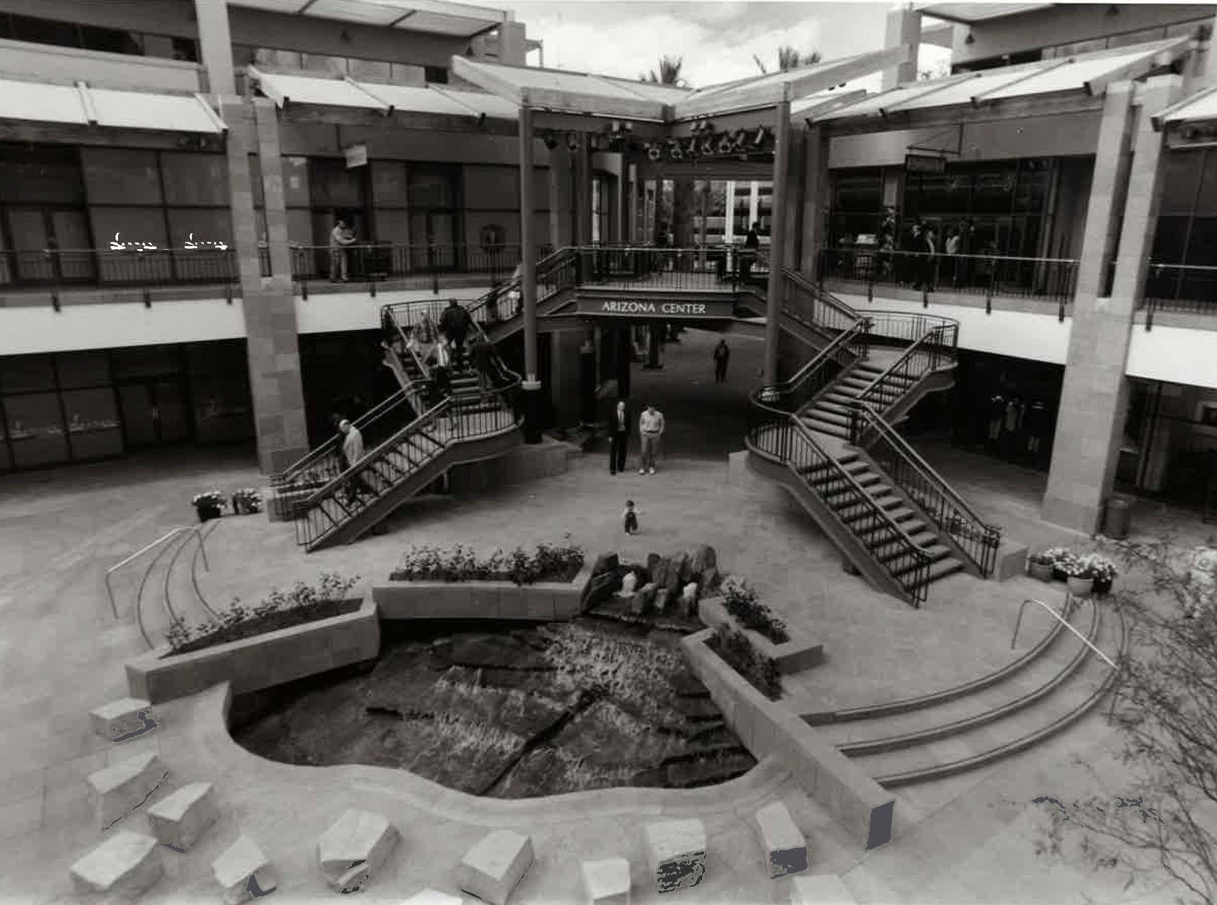The Arizona Center on March 15, 1991.