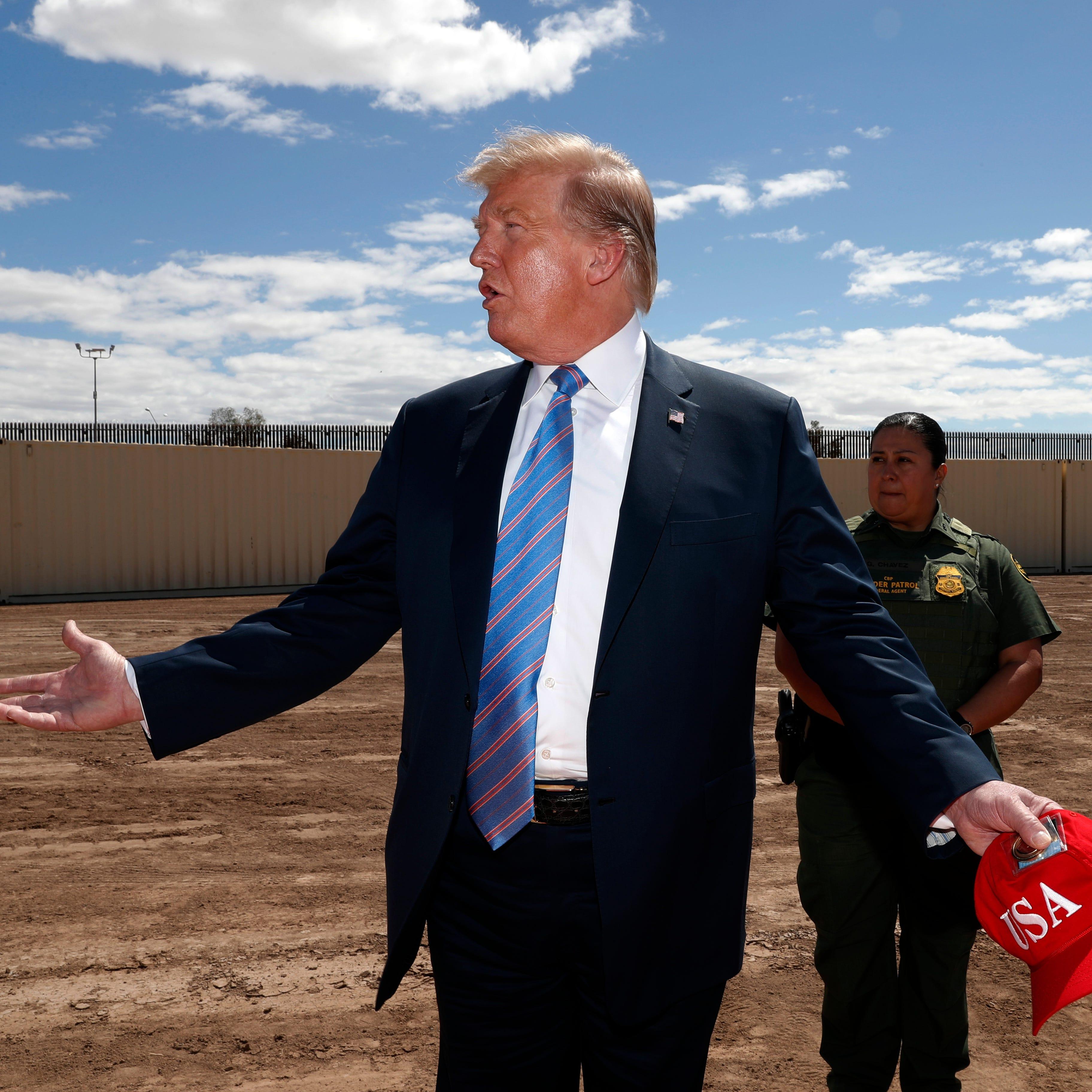 Análisis: ¿Qué tan avanzado va el muro fronterizo de Trump?