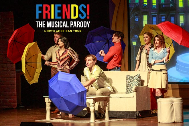 """Friends! The Musical Parody"" is the seventh TV sitcom parody created by writers Bob and Tobly McSmith."