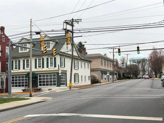 The intersection of Main Avenue and Route 501, or College Street, in Myerstown will be the first area to see improvements from the borough's Main Street revitalization plan.