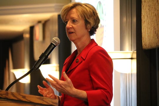 Mary Mertz, new director of the Ohio Department of Natural Resources, told local Lake Erie tourism business owners and other stakeholders that the ODNR is in their corner.