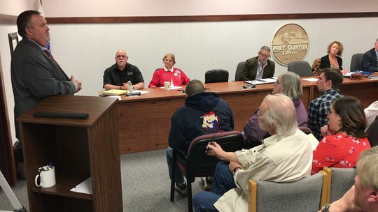 Mike Snider, candidate for Port Clinton mayor, said Tuesday that he wants to jump right in, move forward and get the train back on the right track.
