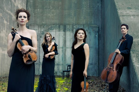 The Daedalus Quartet will perform at the Howland Cultural Center in Beacon April 14.