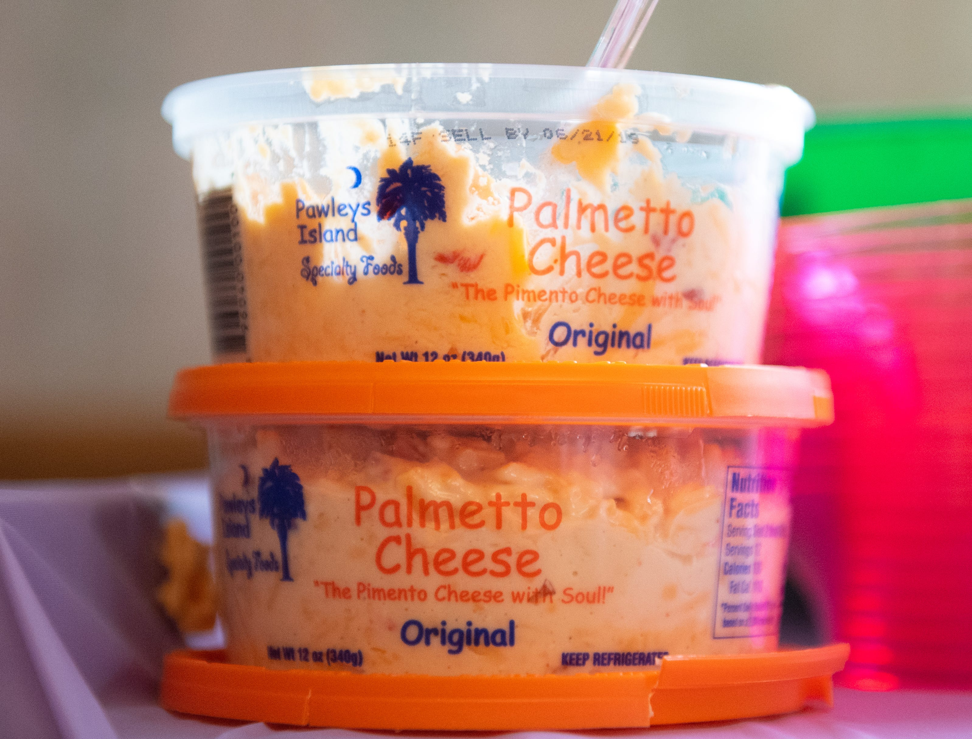 Palmetto cheese is Ann Diehl's favorite cheese and the party has plenty of it, April 5, 2019.