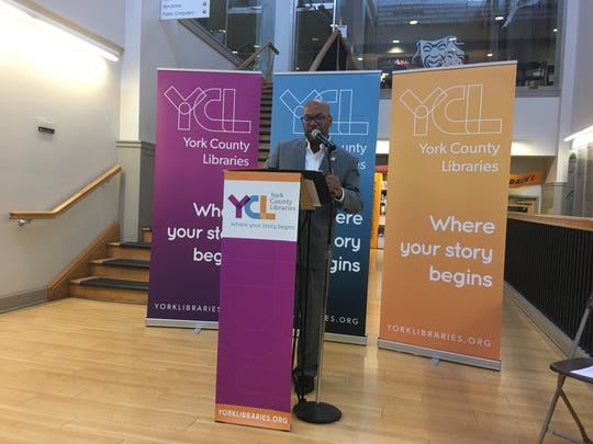 Robert Lambert, president of the York County Libraries, detailed plans on Friday to renovate and/or expand three libraries.