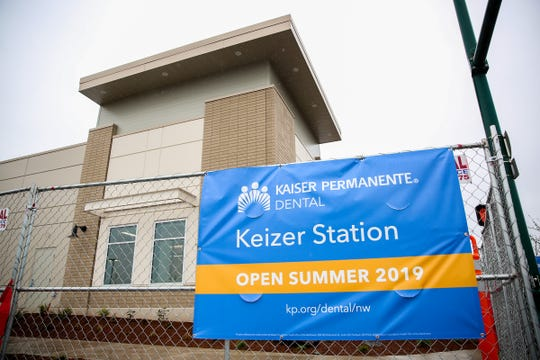 A Kaiser Permenente dental office, set to open summer 2019, is shown at 5910 Ulali Drive in Keizer Station on April 5, 2019.