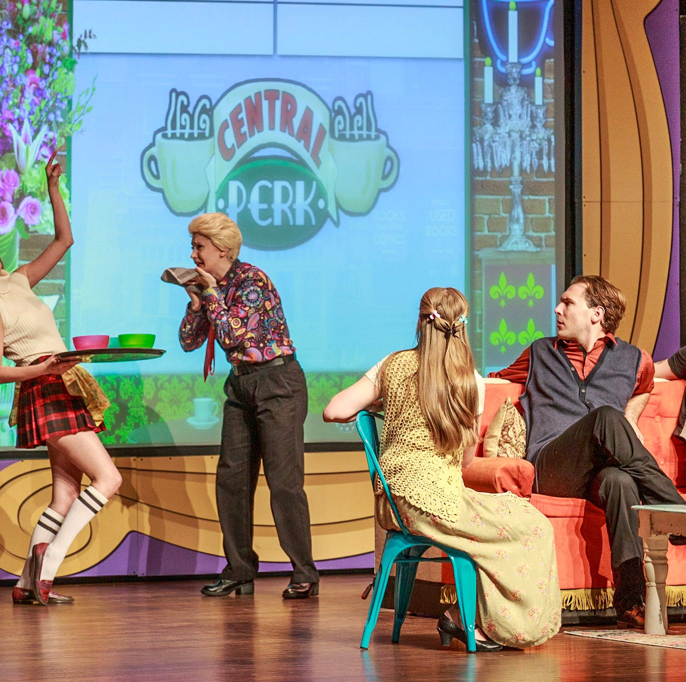 'FRIENDS! The Musical Parody' pivots to Elsinore Theatre on May 2