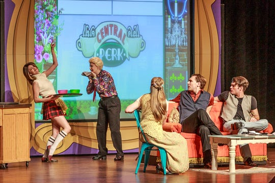 """FRIENDS! The Musical Parody"" will be at the Elsinore Theatre 7:30 p.m. Thursday, May 2."