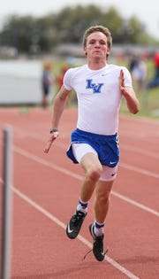 Lake View High School's Elliot Peterson qualified to the area meet in five events with his performance April 3-4, 2019 at the District 5-4A Track and Field Meet in Big Spring.