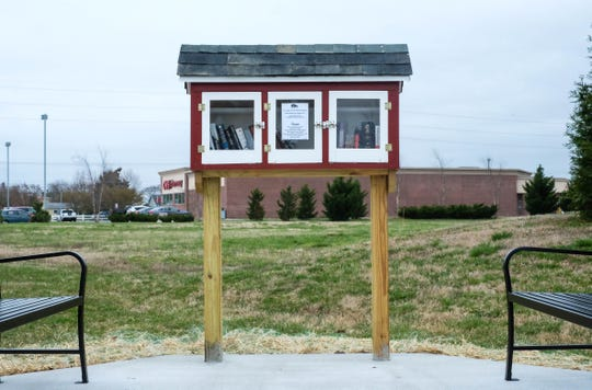 A small kiosk installed at Villages of Five Points has potentially become a $6,000 liability for Lewes Public Library.