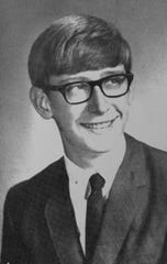 Gov. Tony Evers his senior year of high school.