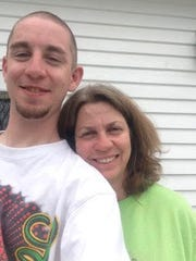 Andrew and his mother Elizabeth Rich.