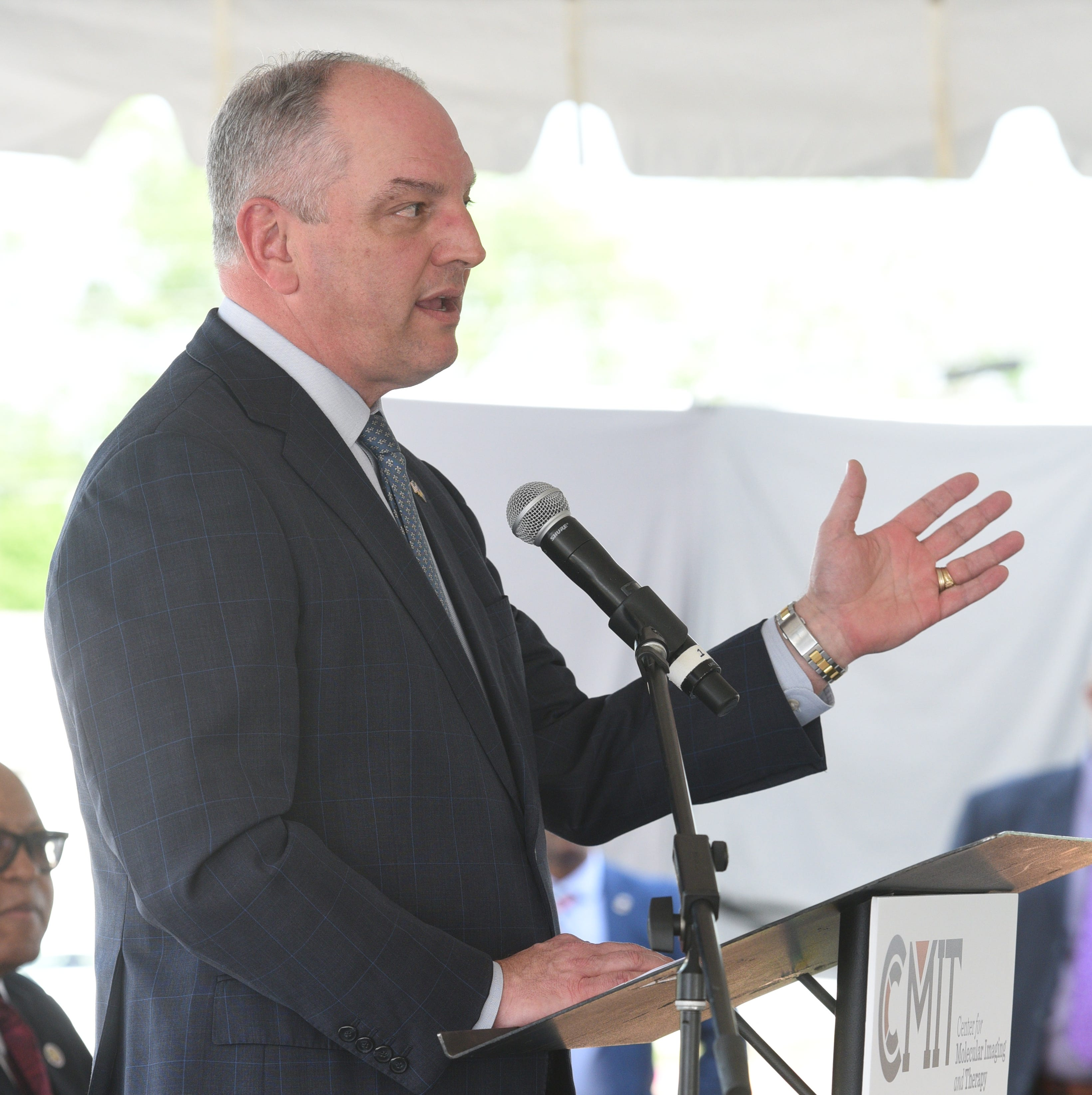 Gov. Edwards challenges Abraham, Rispone to debates