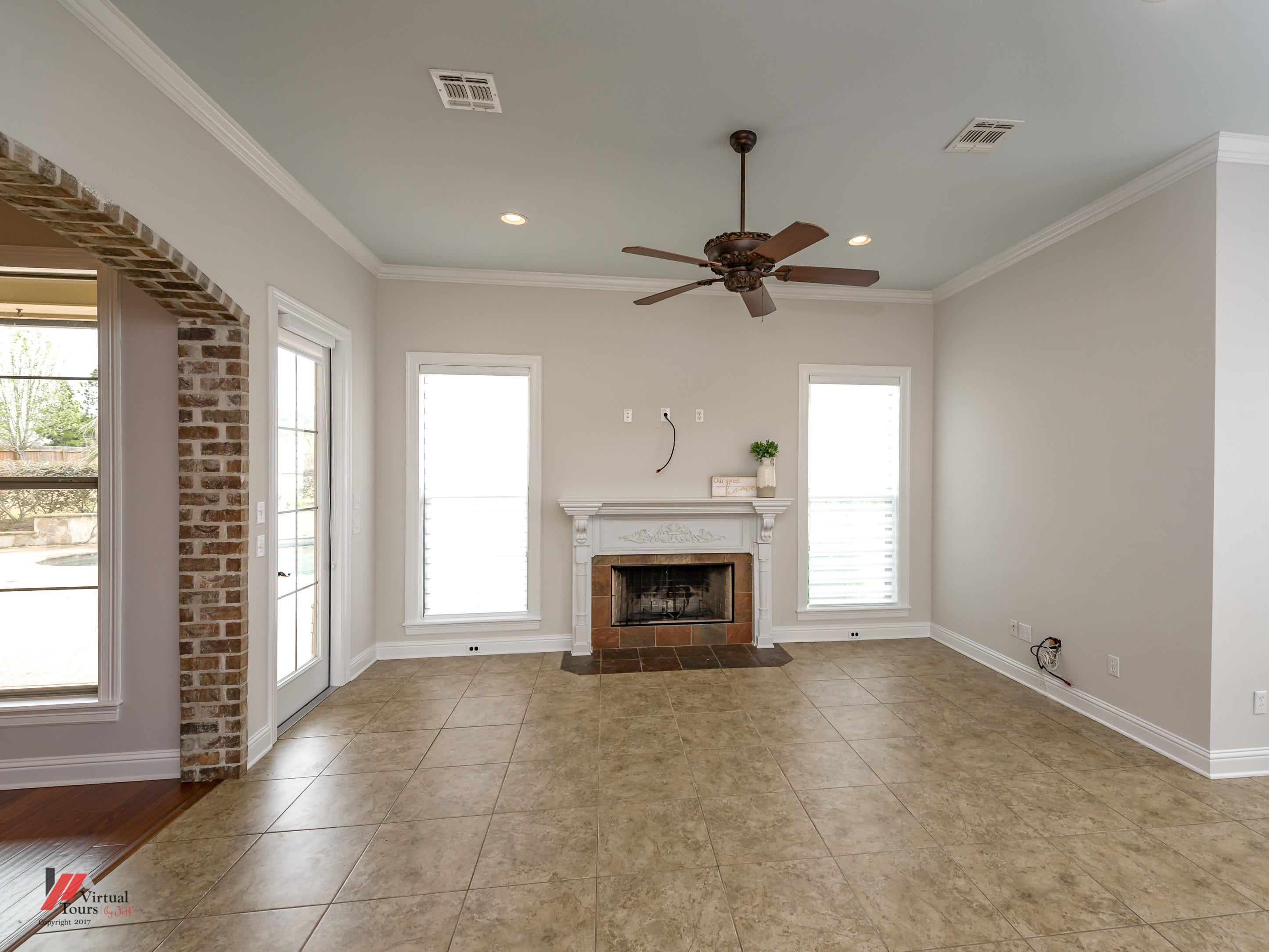 2824 Falmoth Drive, Shreveport  Price: $489,900  Details: 4 bedrooms, 4 bathrooms, 3,314 square feet  Features: Stunning home with backyard oasis, fresh paint, cathedral ceilings, arched door frames, cozy hearth room, rich cabinetry, cook's kitchen, tray ceilings, bonus spaces, inground pool, gazebo and entertaining patio.   Contact: Shelly Wagner, 518-6983