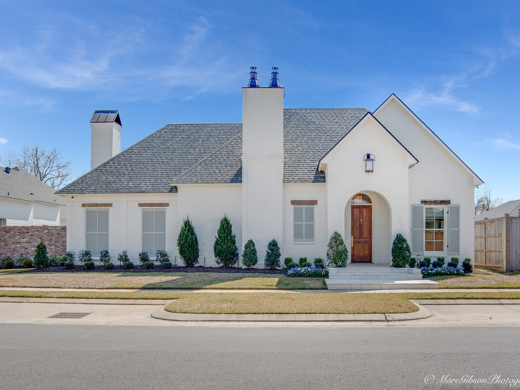 2080 Fairwoods Drive, Shreveport  Price: $925,000  Details: 4 bedrooms, 4 bathrooms, 3,408 square feet  Features: Designer home in upscale Provenance Community, open floor plan, 12 ft. ceilings, white oak flooring, built-ins, chef's dream kitchen, Miele appliances, butler's pantry, bar with wine fridge, backyard oasis with entertaining patio and inground pool.   Contact: Lynn Roos, 455-6004