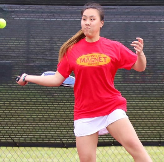 Caddo Magnet's Lim is more than The Times Athlete of the Week