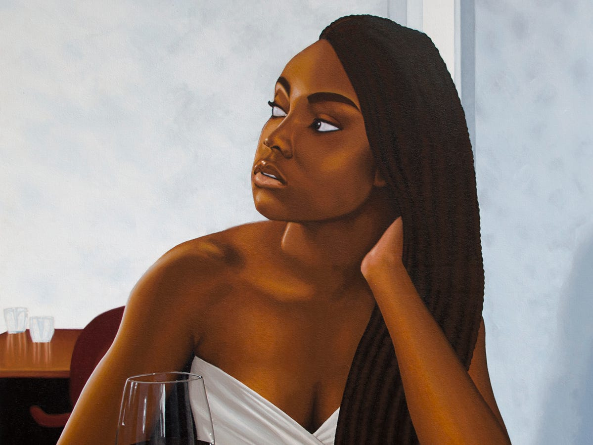 """""""Day Dreaming"""" by Eric Francis is an Honorable Mention in the Critical Mass 7 exhibition, open through May 18 at Artspace."""