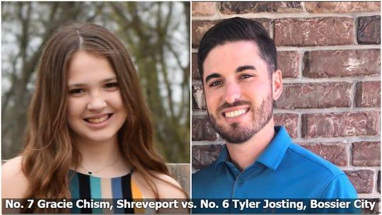 Gracie Chism vs. Tyler Josting, Bracket Survivor XIV, Final Four