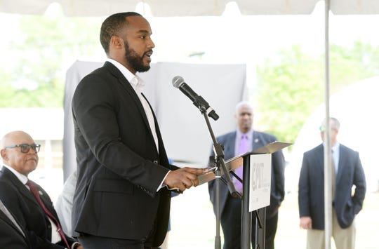 Mayor Adrian Perkins