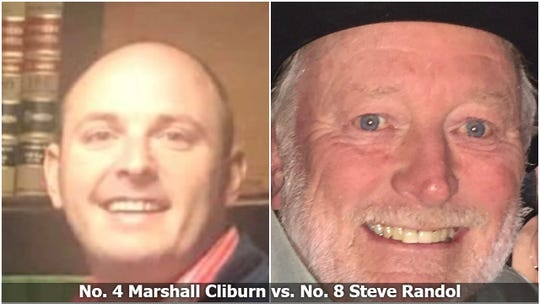 Marshall Cliburn vs. Steve Randol, Bracket Survivor XIV, Final Four
