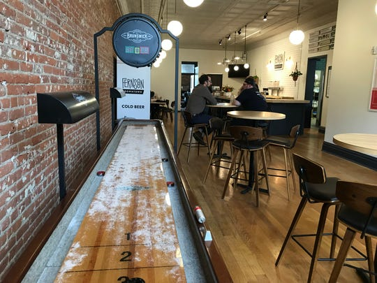 Fernson Brewing Co.'s new downtown Sioux Falls location is scheduled to open Monday. The remodeled interior of its Phillips Avenue location is designed to be both light and inviting to guests.