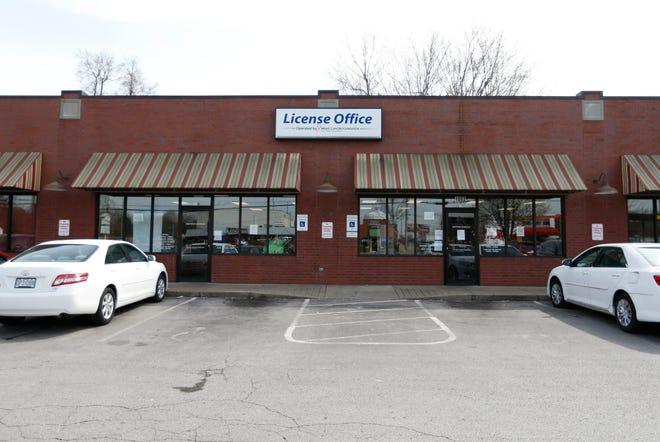 The license office on Bennett Street and Glenstone Avenue on Friday, April 5, 2019.