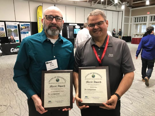The St. Cloud Regional Airport received a merit award for Outstanding Performance.