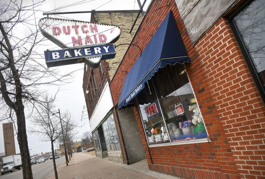 The current Dutch Maid Bakery at 417 East St. Germain St. is pictured Friday, April 5, in St. Cloud. The business has operated from that location for more than 60 years.