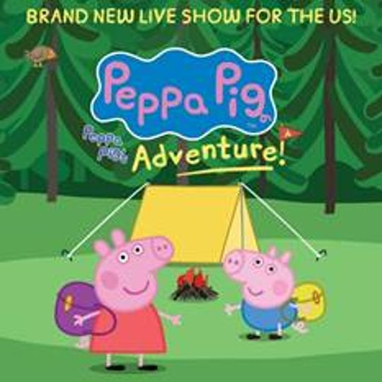 Peppa Pig's Adventure is coming to El Paso.