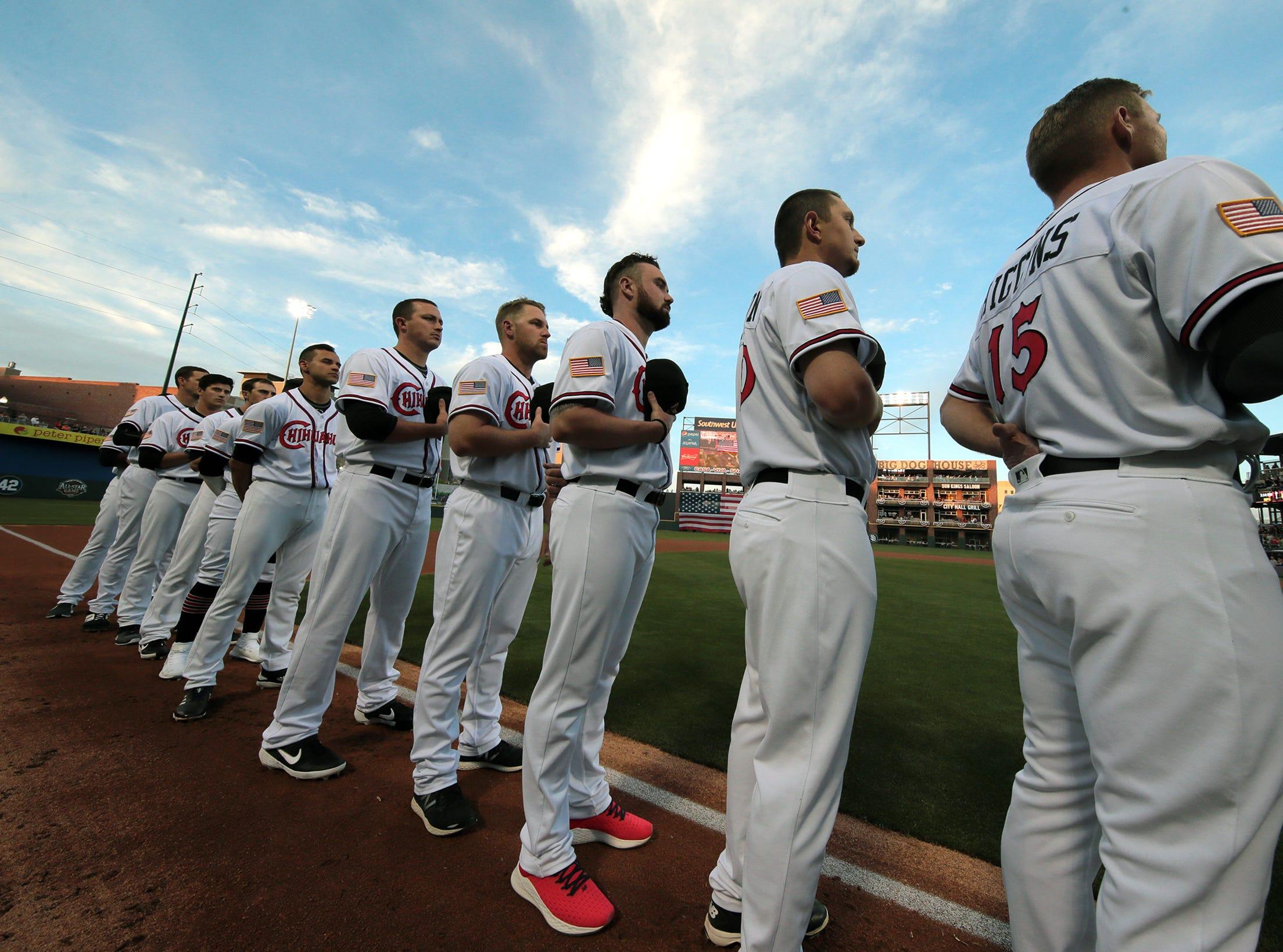 The El Paso Chihuahuas faced the Las Vegas Aviators on opening night Thursday at Southwest University Park.