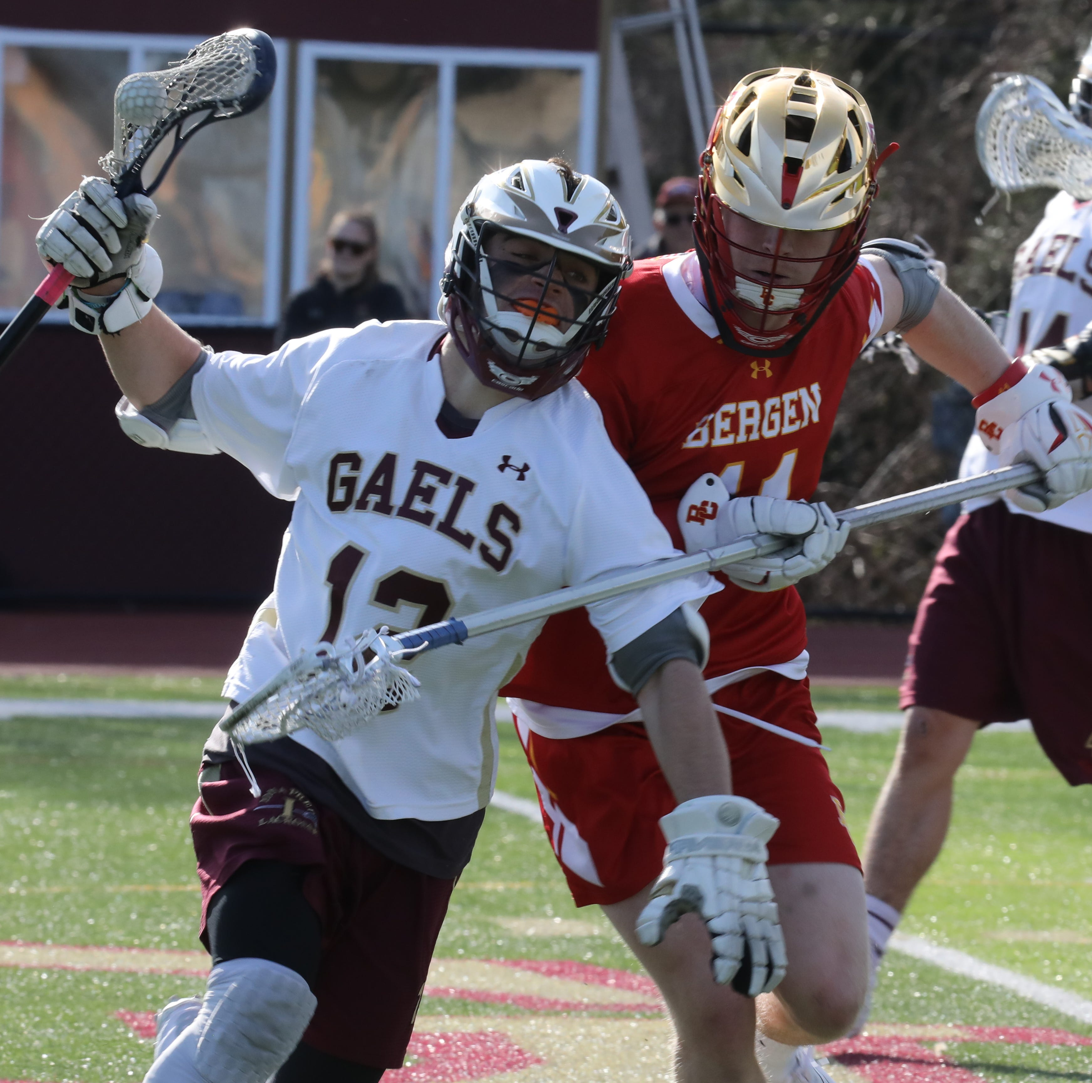 Boys lacrosse: Iona Prep blows the lead, then rallies for a win over Bergen Catholic