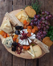 Cheese platter from Ladle of Love in Bronxville.