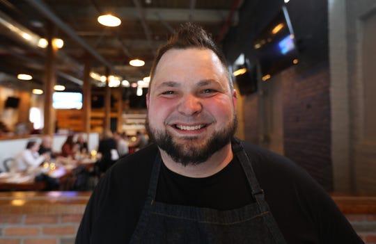 Chef Pete Muller at Hudson's Mill Tavern in Garnerville April 4, 2019.