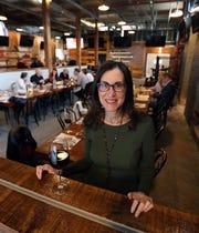 Jeanne Muchnick at Hudson's Mill Tavern in Garnerville April 4, 2019.
