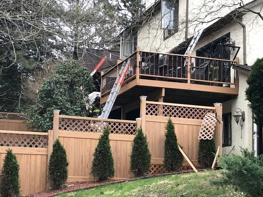 Multiple fire companies answered a call of a burning home at the corner of Breckenville Road and Mill Creek Road early Friday morning. No injuries were reported.