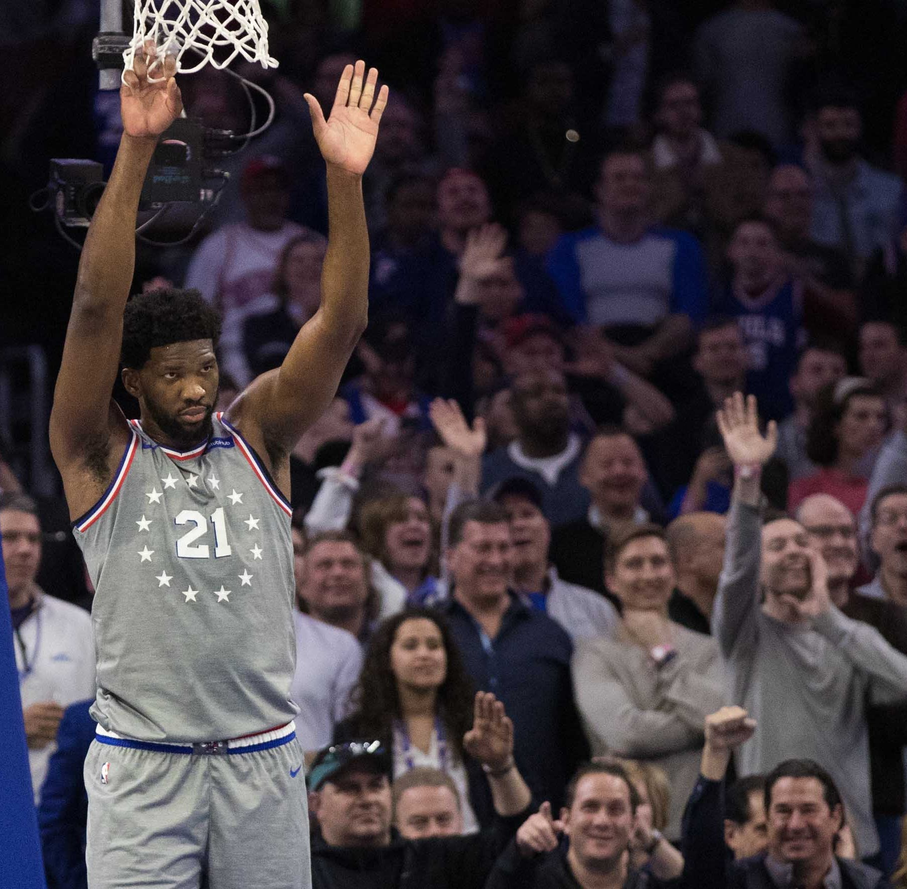 As Game 1 of playoffs looms, Sixers are again being vague about Embiid's health