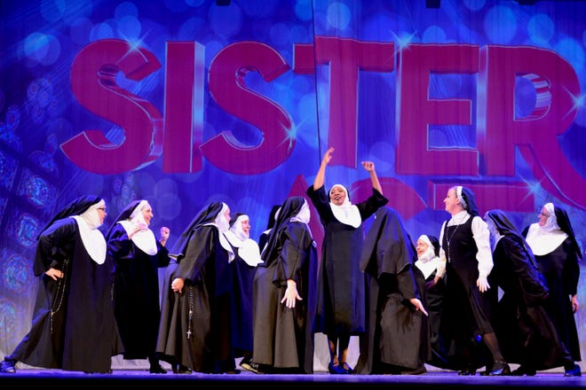 """Sister Act: The Musical"" returns to the Wichita Theatre at 7:30 p.m. tonight and 2 p.m. and 7:30 p.m. Saturday for a 3 week run."