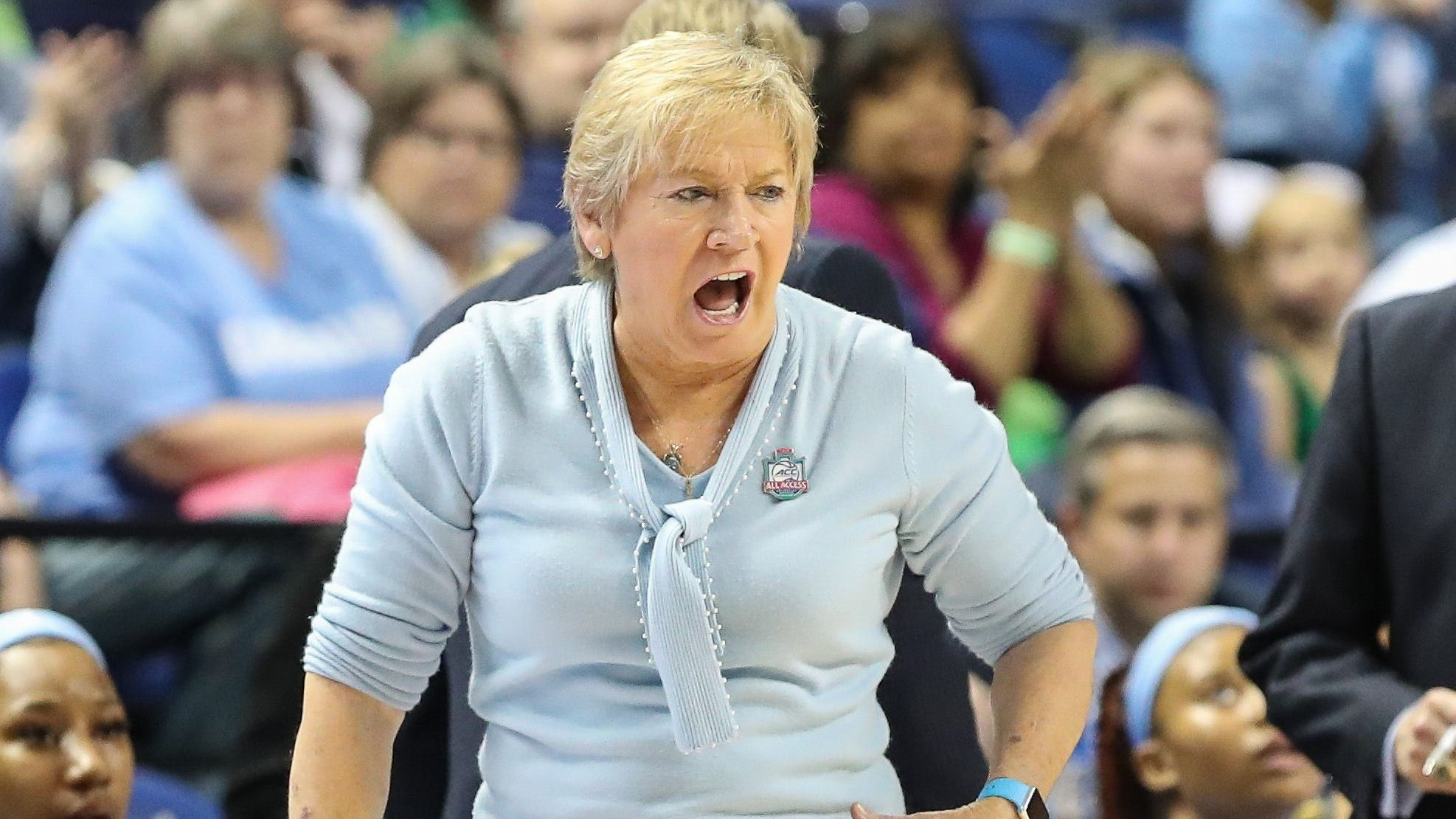 A member of the basketball hall of fame, Sylvia Hatchell has coached at North Carolina since 1986, winning a national championship in 1994.