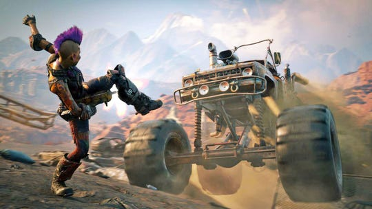 The sequel 'Rage 2' adds more carnage, larger environments, new abilities, extra vehicles, and more.