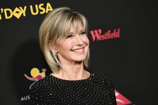 Olivia Newton-John attends 2018 G'Day USA Los Angeles Black Tie Gala at InterContinental Los Angeles Downtown on Jan. 27.